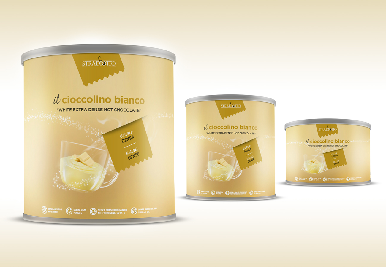 Packaging coccolino bianco