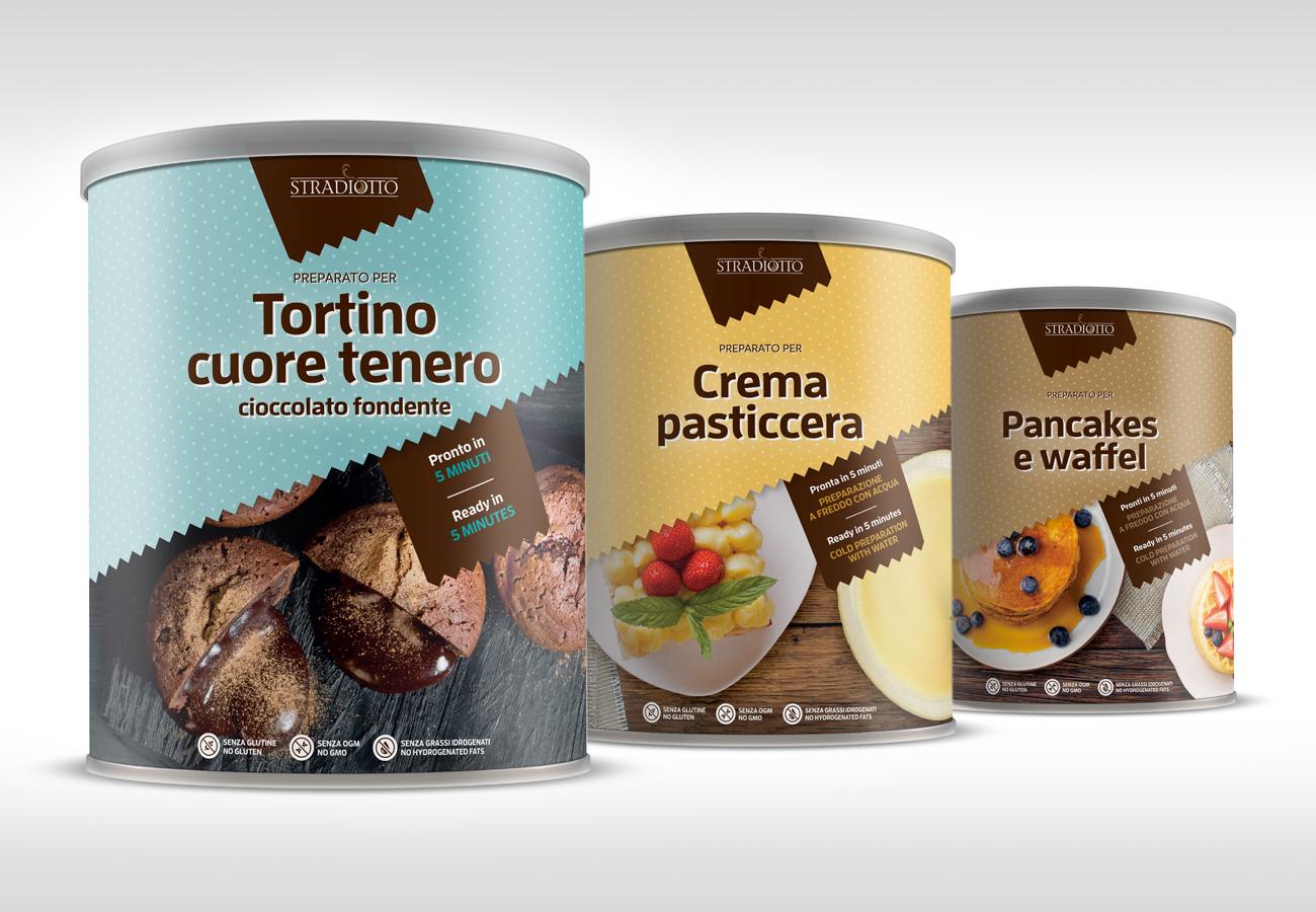 Packaging prodotti dolciari